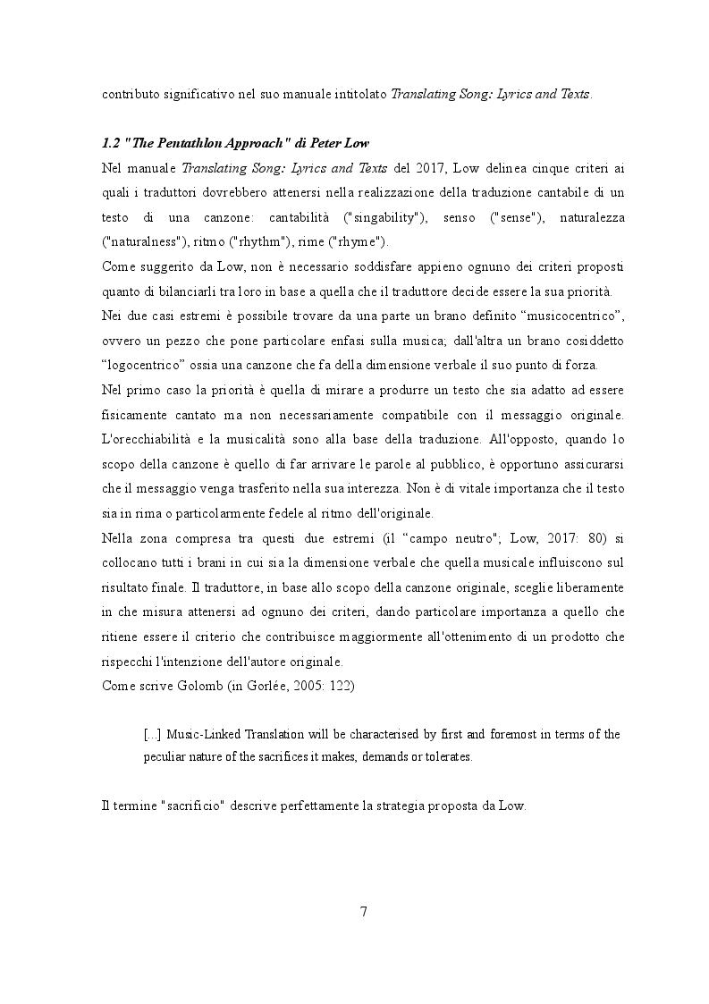 Anteprima della tesi: Traduzione e musica: il caso Rolling Stones e Beatles, Pagina 5