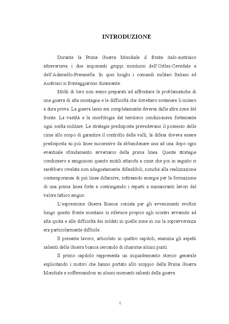 Anteprima della tesi: La guerra bianca del fronte alpino, Pagina 2