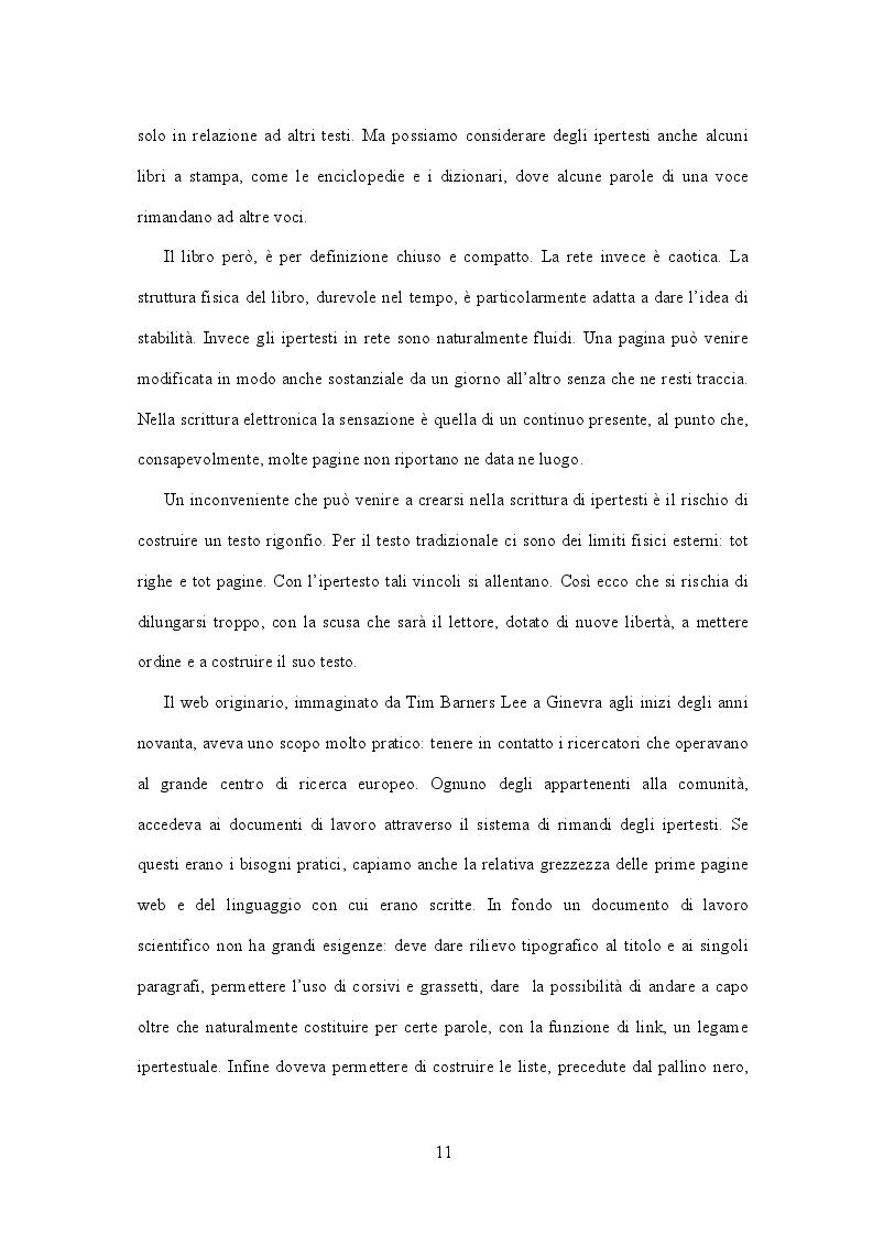 Anteprima della tesi: Il linguaggio della telefonia mobile. SMStory: Romeo e Giulietta e l'amore in epoca digitale., Pagina 8