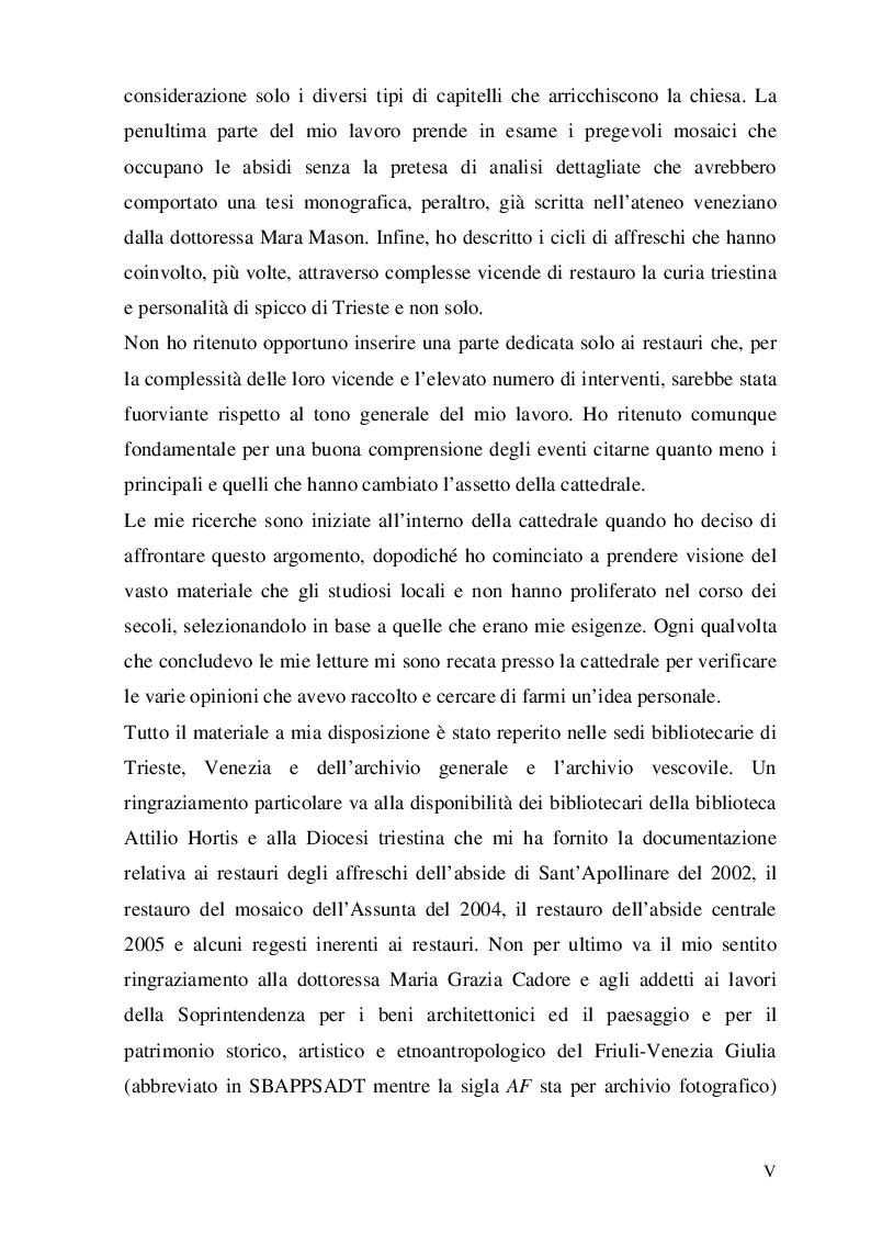 Anteprima della tesi: La cattedrale di San Giusto a Trieste, Pagina 3