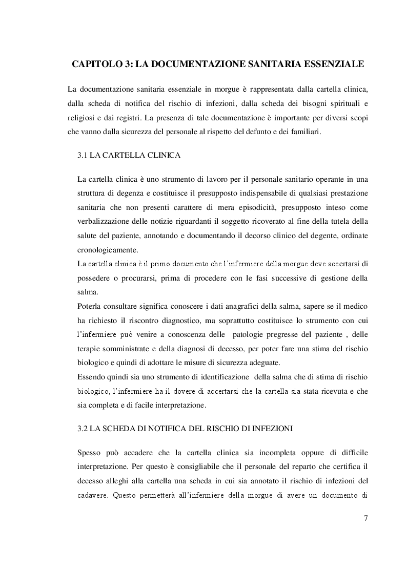 Estratto dalla tesi: L'Infermiere nel Servizio Morgue: Revisione Sistematica della Letteratura