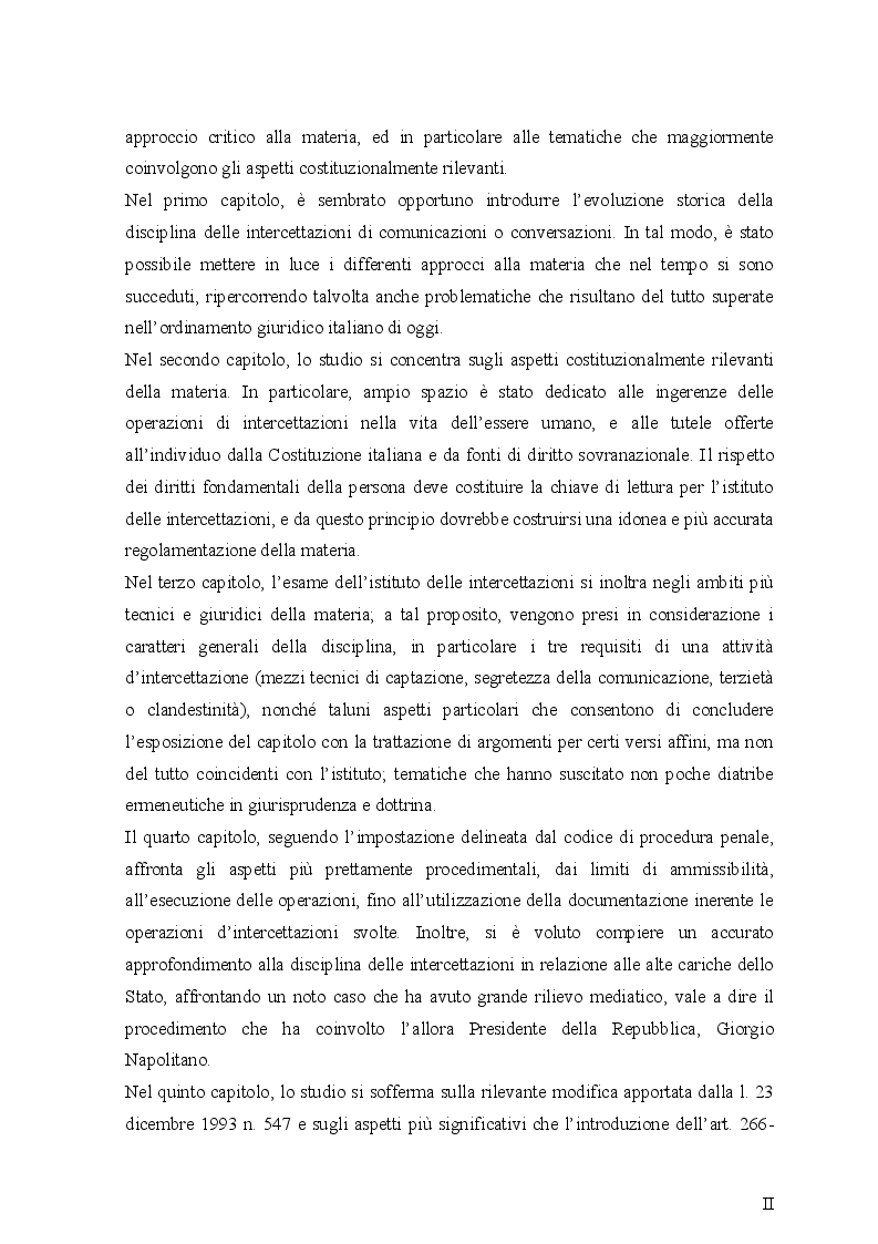 Anteprima della tesi: Le intercettazioni (passato, presente e futuro tecnologico), Pagina 3