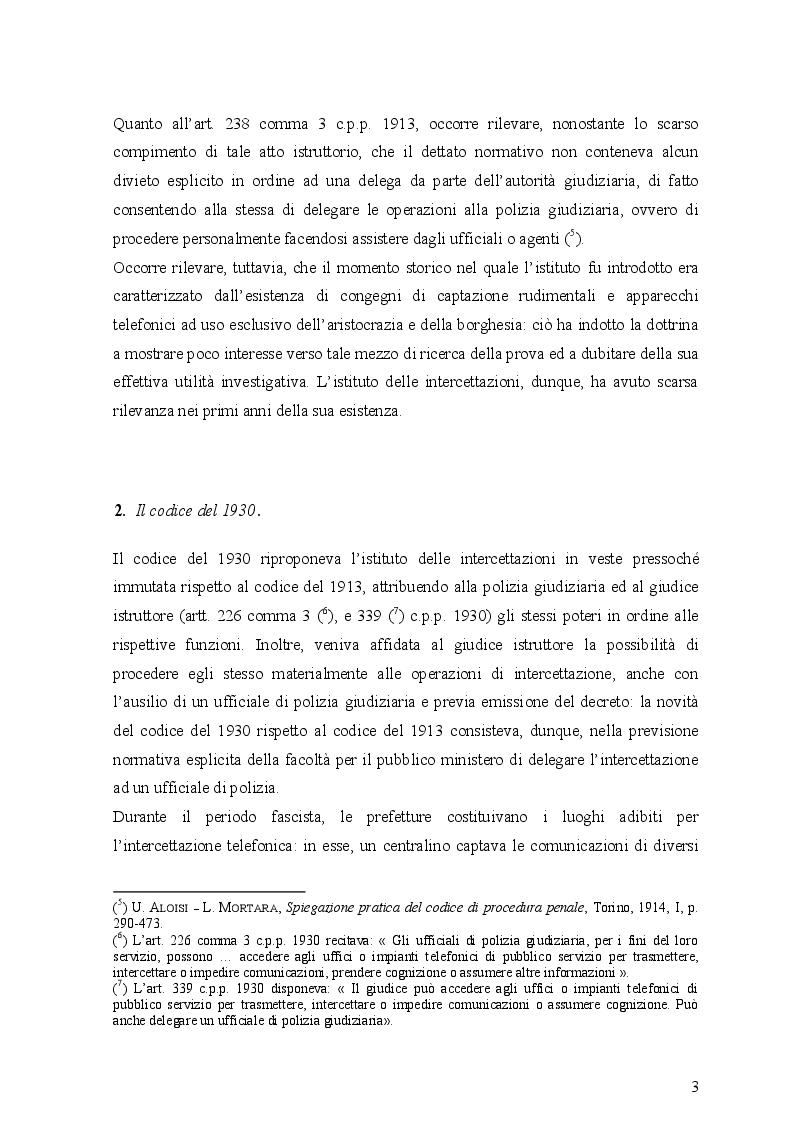 Anteprima della tesi: Le intercettazioni (passato, presente e futuro tecnologico), Pagina 7