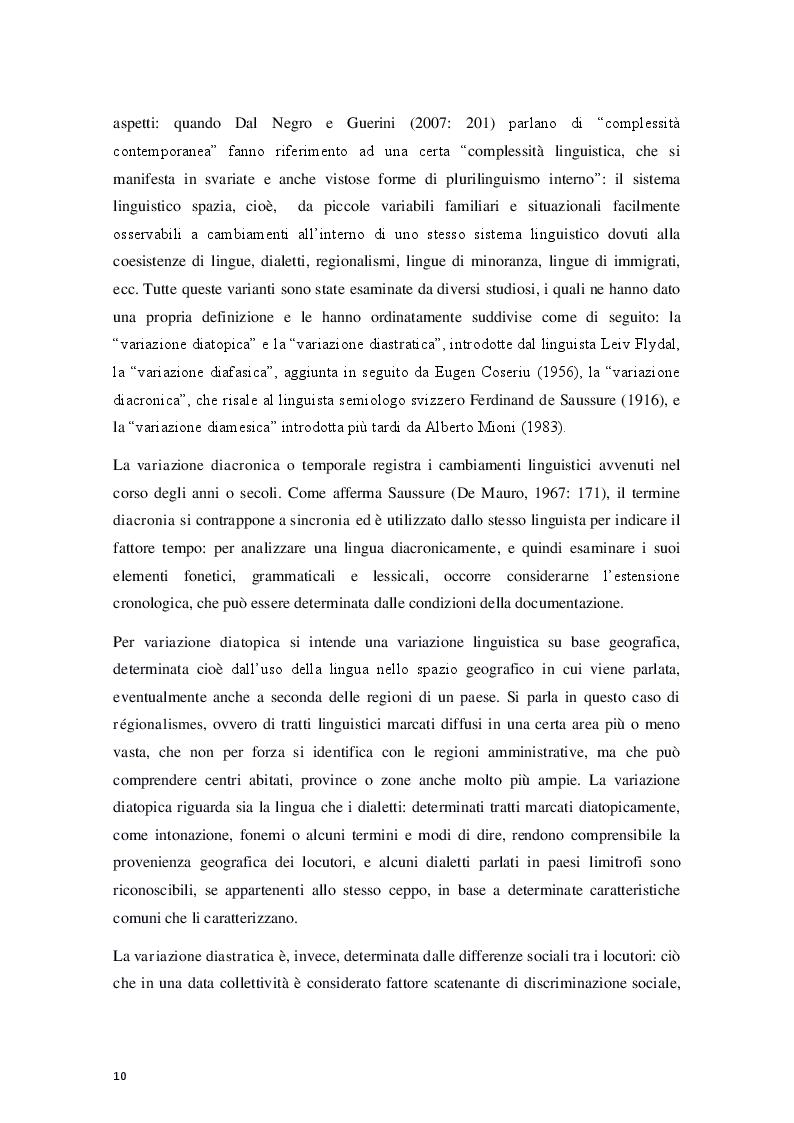 """Anteprima della tesi: """"Le céfran… c'est relou!"""" - Il francese nel web, Pagina 5"""