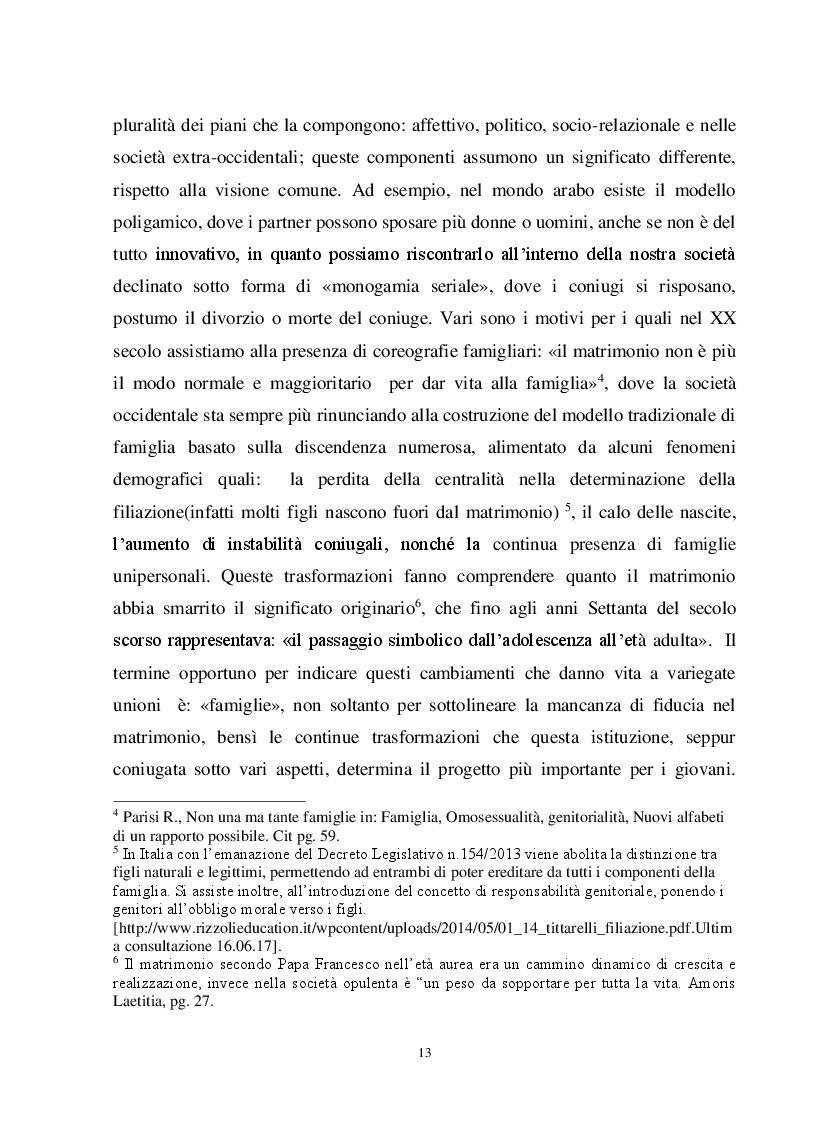 Anteprima della tesi: Io, tu ed i nostri figli. La famiglia omogenitoriale, Pagina 3