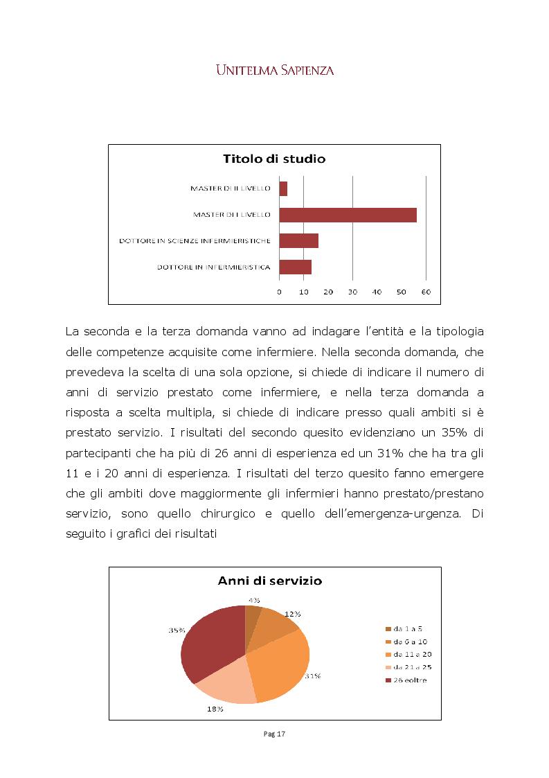 Anteprima della tesi: La CTU infermieristica nei procedimenti di risarcimento del danno da responsabilità sanitaria, Pagina 3