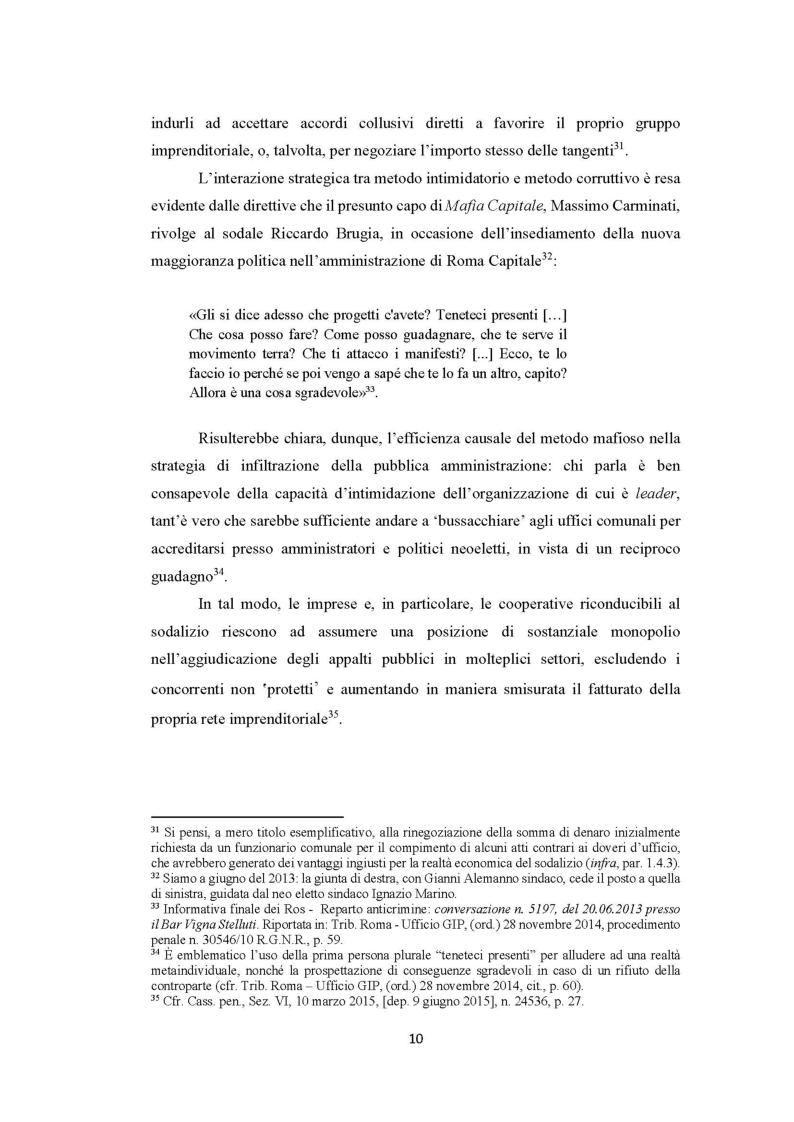 Anteprima della tesi: Evoluzione del fenomeno corruttivo e ruolo della criminalità organizzata: il caso Mafia Capitale, Pagina 11