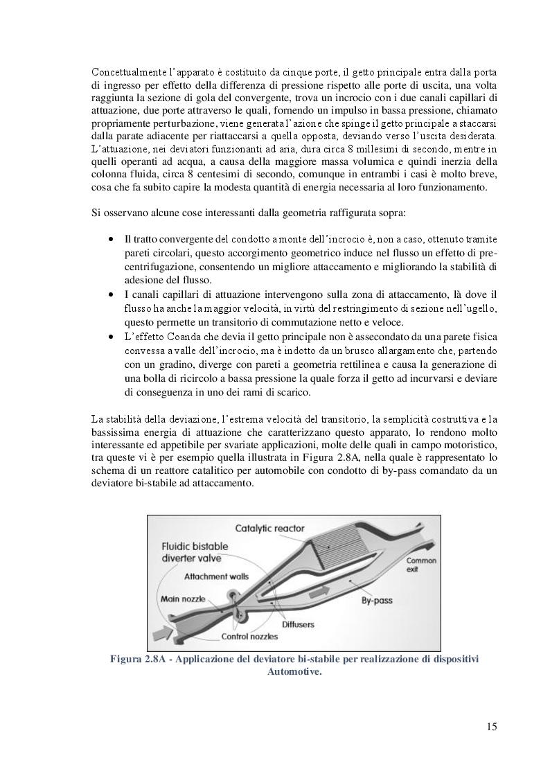 Anteprima della tesi: Studio e Caratterizzazione di una Valvola Deviatrice Innovativa ad effetto Coanda, Pagina 9