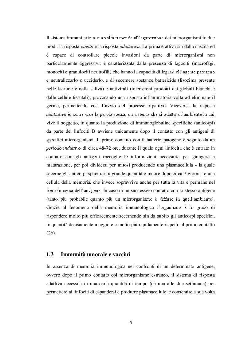 Anteprima della tesi: Il decremento della copertura vaccinale in Italia: un'indagine sulle conoscenze e la percezione dell'opinione pubblica sul tema dei vaccini, Pagina 4