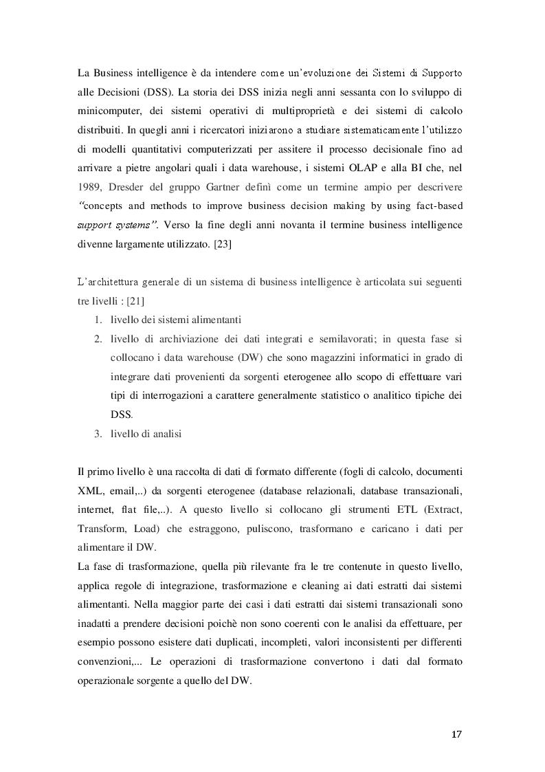 Anteprima della tesi: Big Data: dalla Business Intelligence alla Predictive Analytics, Pagina 5