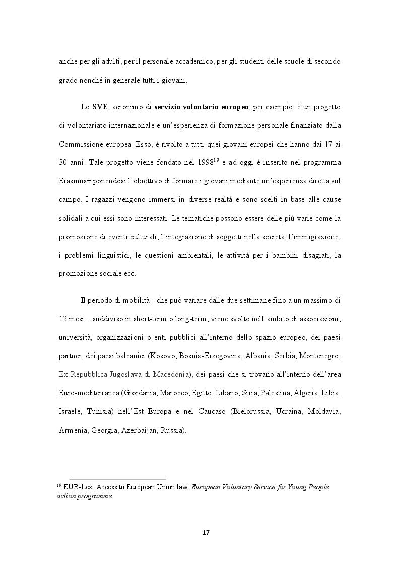 Anteprima della tesi: L'esperienza della mobilità tra i giovani europei. Studenti Erasmus in Turchia, Pagina 4