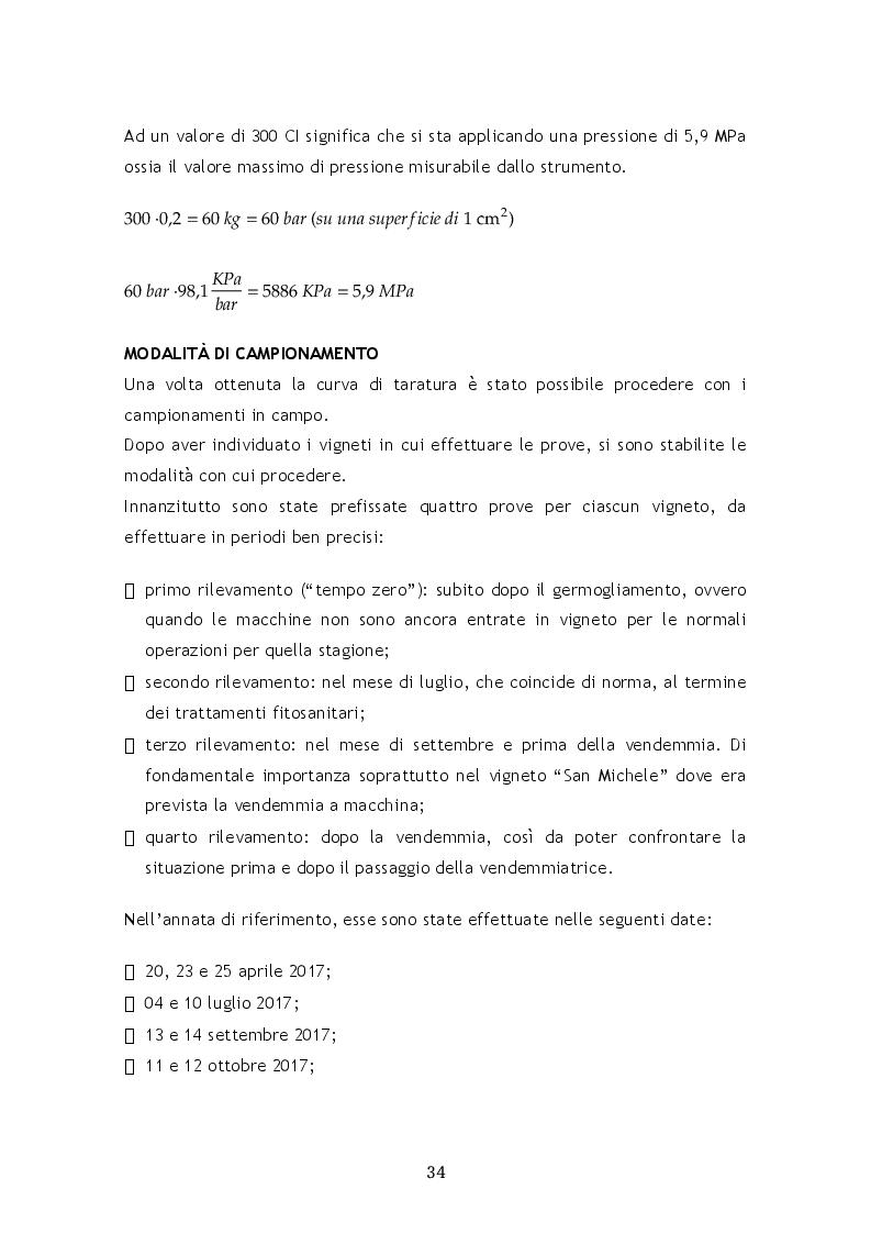 Anteprima della tesi: Il compattamento nel vigneto in relazione al transito dei mezzi agricoli, Pagina 4