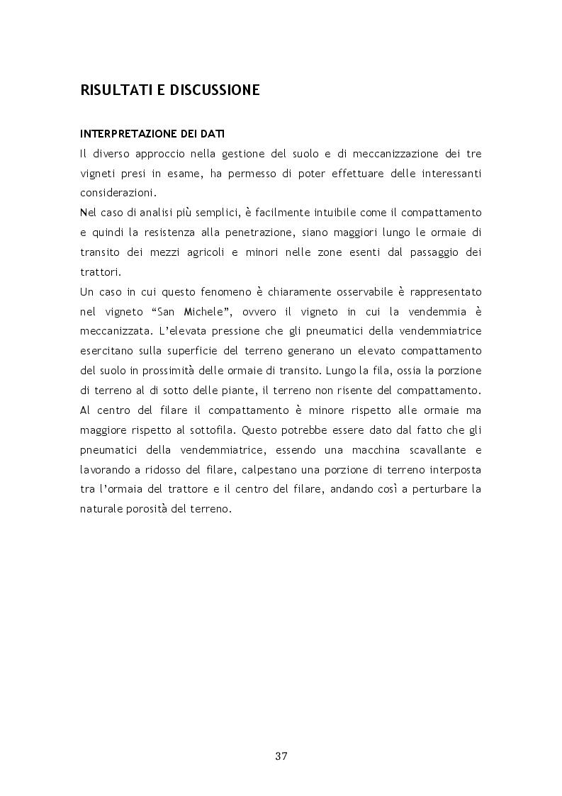 Anteprima della tesi: Il compattamento nel vigneto in relazione al transito dei mezzi agricoli, Pagina 7