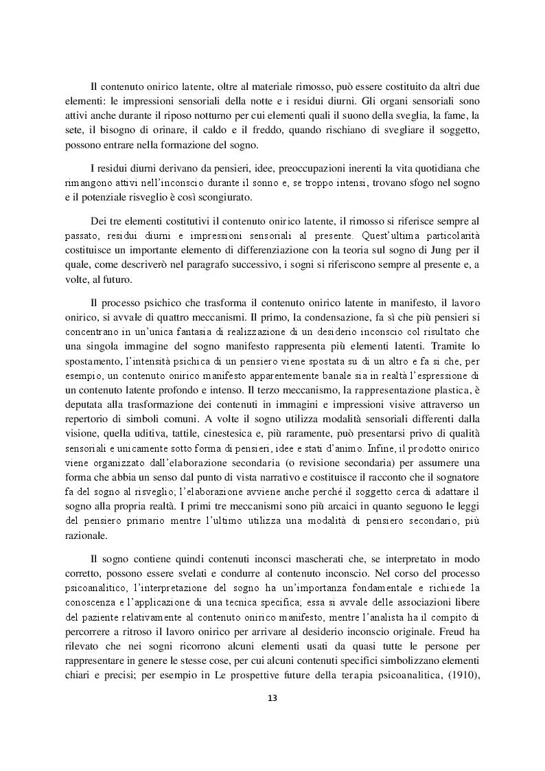 Anteprima della tesi: Sogno e campo psicoanalitico. Discussione su recenti modelli teorico-clinici, Pagina 5