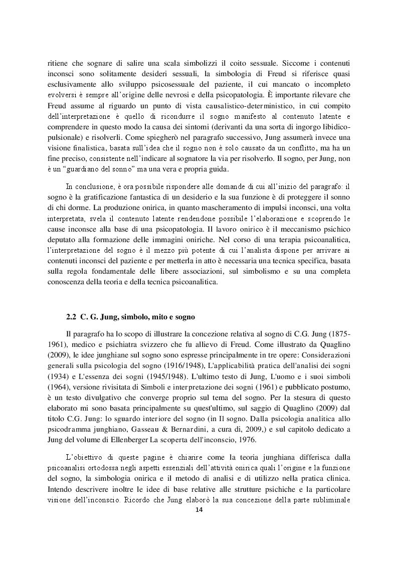 Anteprima della tesi: Sogno e campo psicoanalitico. Discussione su recenti modelli teorico-clinici, Pagina 6