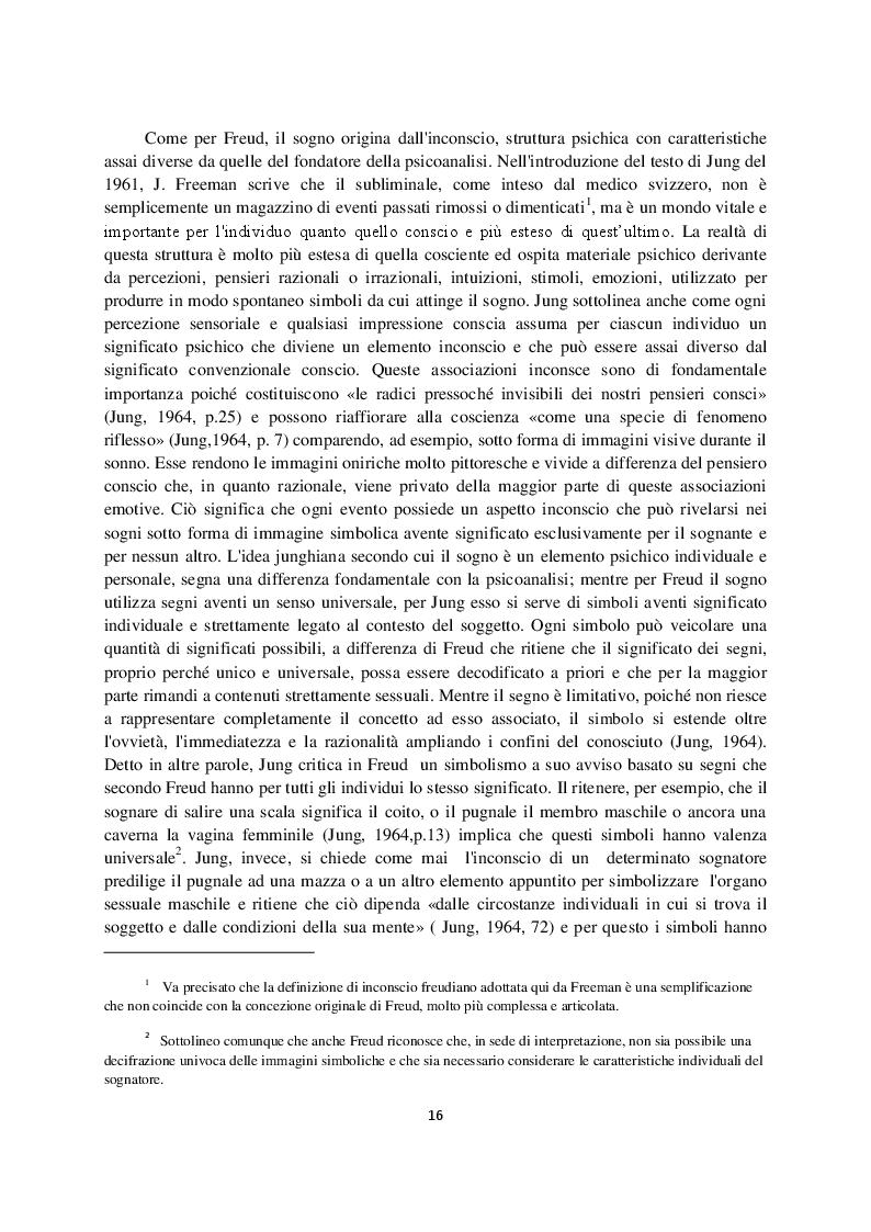 Anteprima della tesi: Sogno e campo psicoanalitico. Discussione su recenti modelli teorico-clinici, Pagina 8