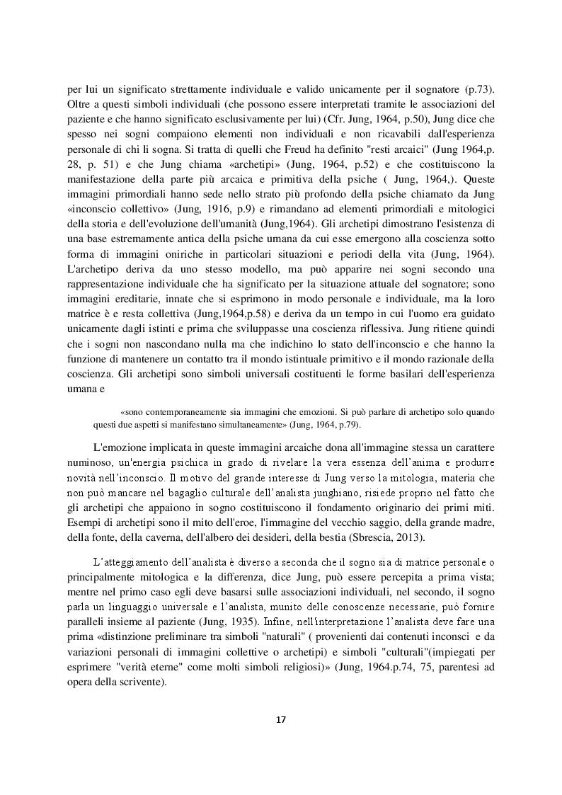 Anteprima della tesi: Sogno e campo psicoanalitico. Discussione su recenti modelli teorico-clinici, Pagina 9