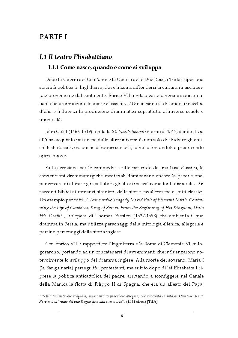 Anteprima della tesi: Progetto per i costumi de Il Dottor Faust di Christopher Marlowe, Pagina 4