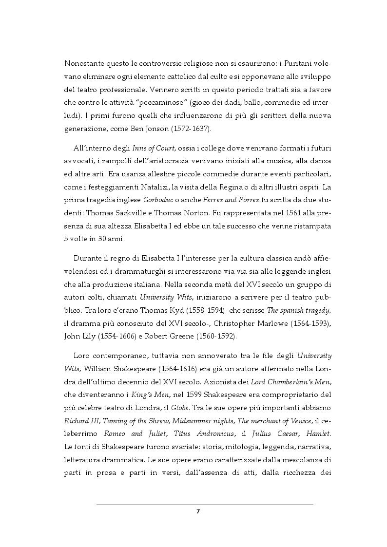 Anteprima della tesi: Progetto per i costumi de Il Dottor Faust di Christopher Marlowe, Pagina 5