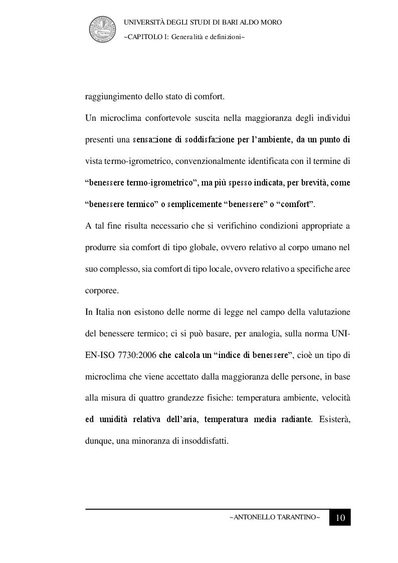 Anteprima della tesi: Le condizioni microclimatiche nelle sale operatorie: campionamenti e verifiche per l'analisi del rischio, Pagina 3