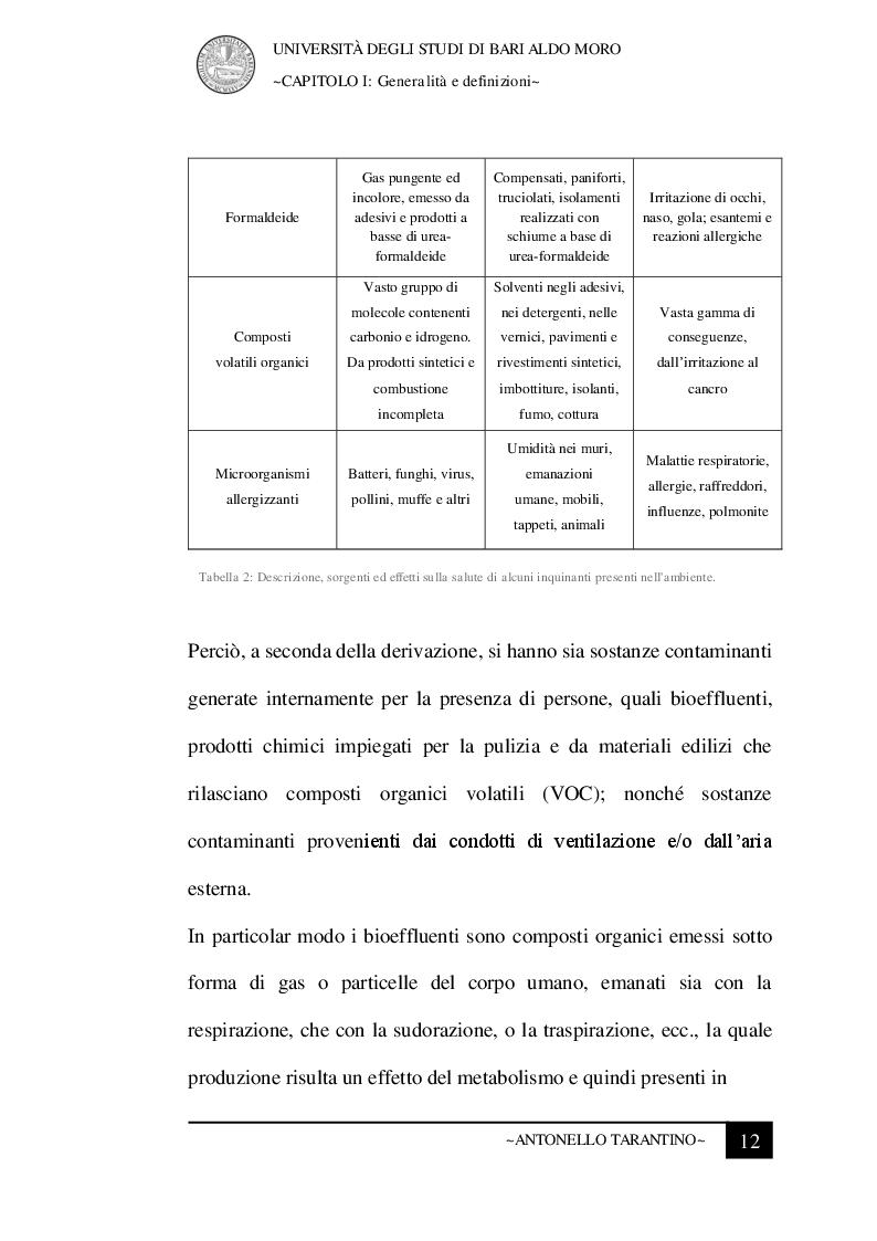 Anteprima della tesi: Le condizioni microclimatiche nelle sale operatorie: campionamenti e verifiche per l'analisi del rischio, Pagina 5