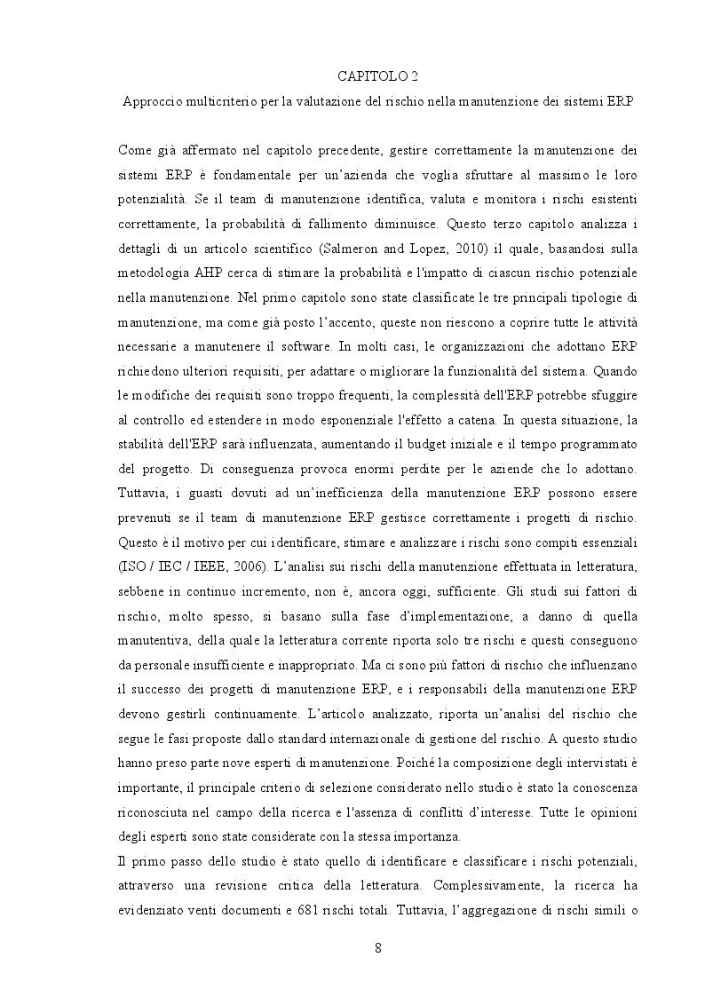 Estratto dalla tesi: La manutenibilità dei software - un caso studio