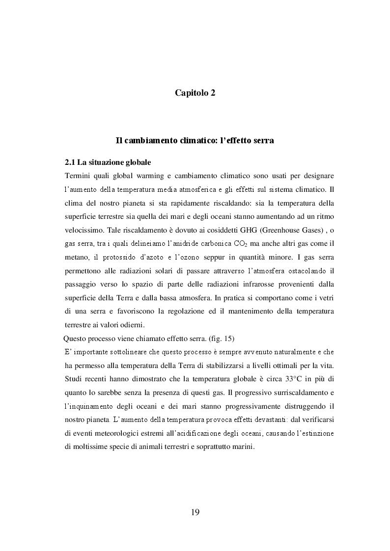 Estratto dalla tesi: La radiazione solare e il riscaldamento globale: osservazioni, conseguenze e strategie future