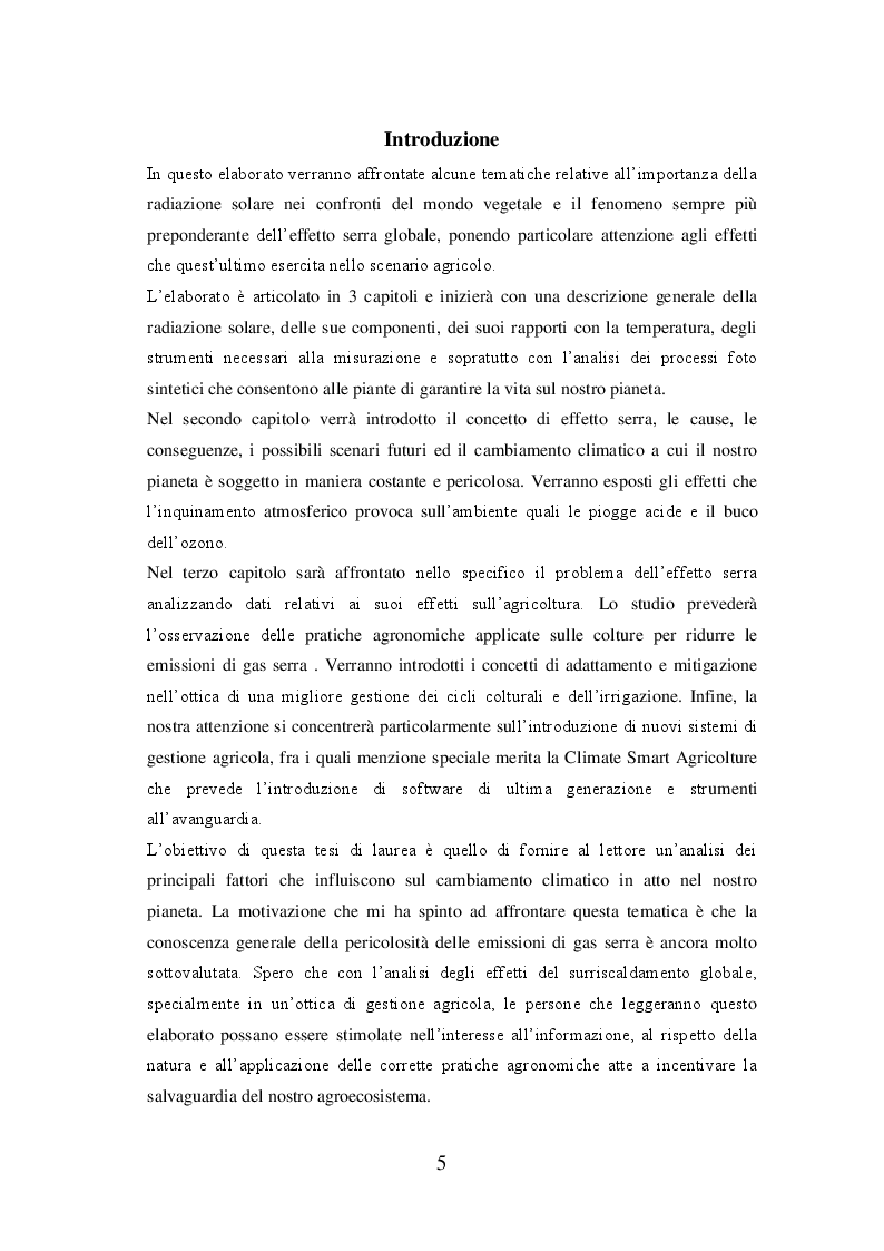 Anteprima della tesi: La radiazione solare e il riscaldamento globale: osservazioni, conseguenze e strategie future, Pagina 2