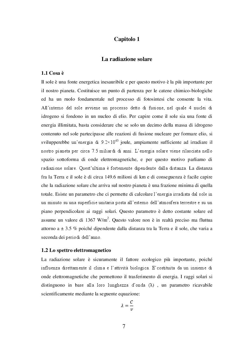Anteprima della tesi: La radiazione solare e il riscaldamento globale: osservazioni, conseguenze e strategie future, Pagina 3