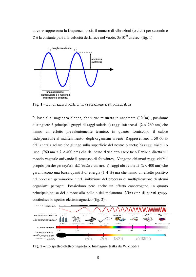 Anteprima della tesi: La radiazione solare e il riscaldamento globale: osservazioni, conseguenze e strategie future, Pagina 4