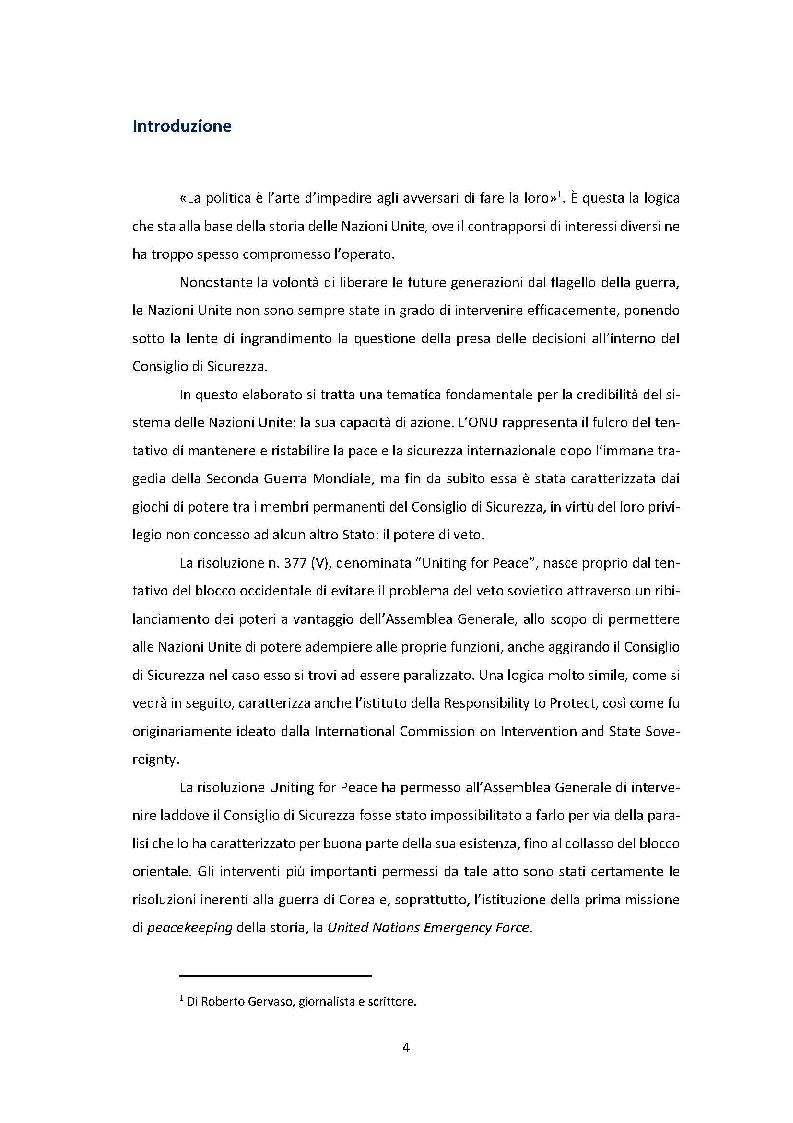 Anteprima della tesi: La risoluzione Uniting for Peace e il suo impatto sulla prassi delle Nazioni Unite, Pagina 2