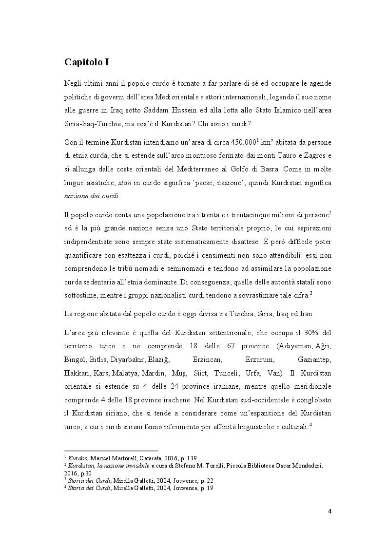 Anteprima della tesi: Educazione, odio interetnico, identità: la questione curda nel Sud-Est della Turchia, Pagina 2