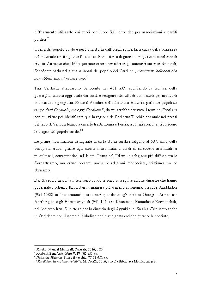 Anteprima della tesi: Educazione, odio interetnico, identità: la questione curda nel Sud-Est della Turchia, Pagina 4