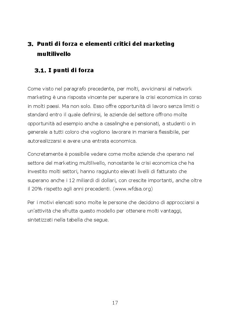 Anteprima della tesi: Network marketing nel mondo 2.0. - I social media ed il caso Pm-International, Pagina 4