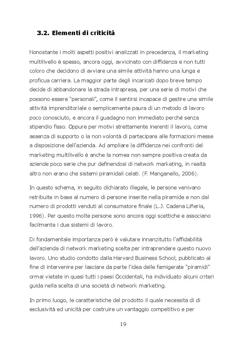 Anteprima della tesi: Network marketing nel mondo 2.0. - I social media ed il caso Pm-International, Pagina 6
