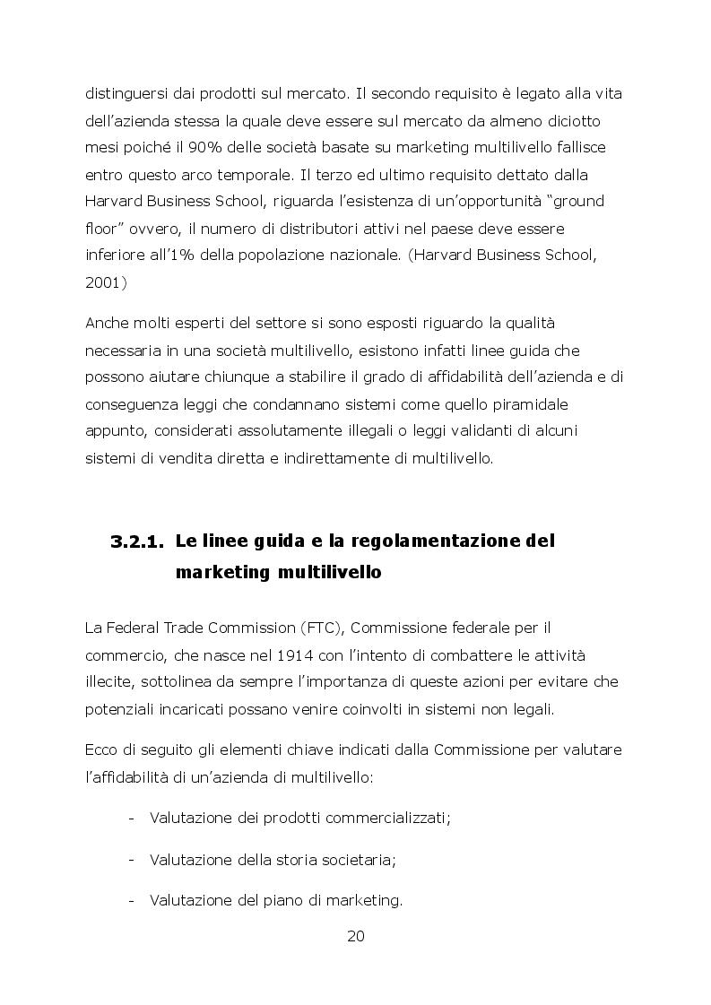 Anteprima della tesi: Network marketing nel mondo 2.0. - I social media ed il caso Pm-International, Pagina 7