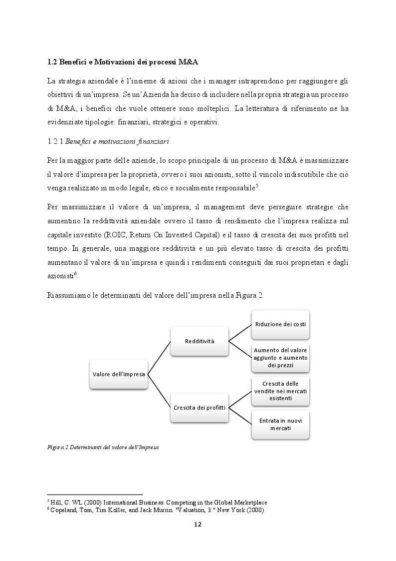 Anteprima della tesi: M&A nel settore TLC: il caso WIND Tre, Pagina 5