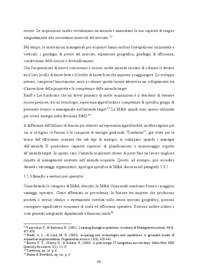 Anteprima della tesi: M&A nel settore TLC: il caso WIND Tre, Pagina 8
