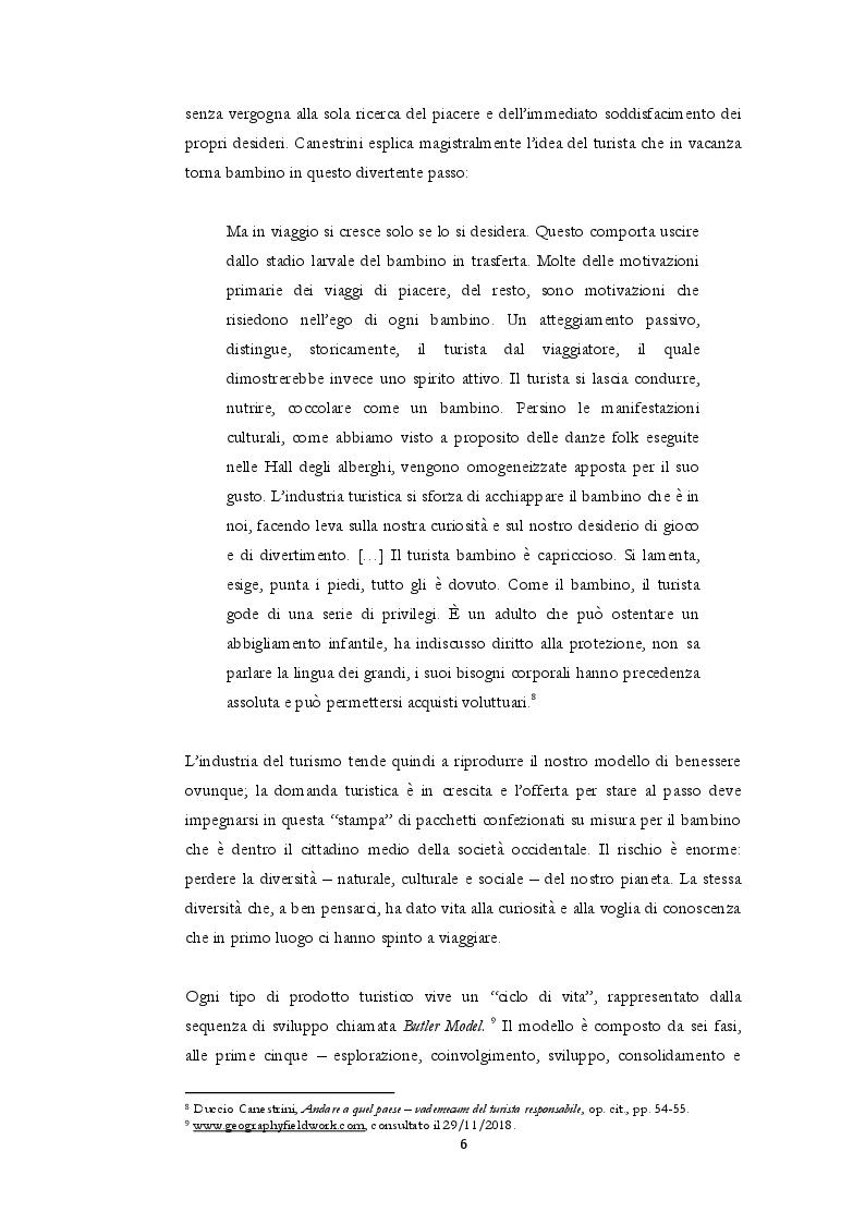Estratto dalla tesi: Cambiare marcia al turismo - sostenibilità, cicloturismo e il caso francese della Scandiberique