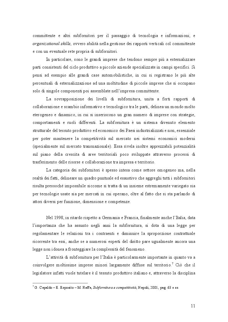 Anteprima della tesi: L'Abuso di Dipendenza Economica: dall'emanazione della legge alla prima volta dell'AGCM, Pagina 5