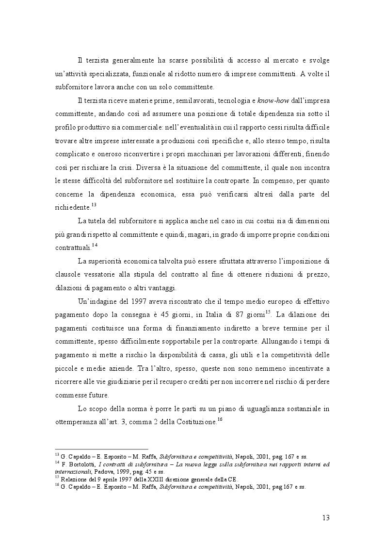 Anteprima della tesi: L'Abuso di Dipendenza Economica: dall'emanazione della legge alla prima volta dell'AGCM, Pagina 7