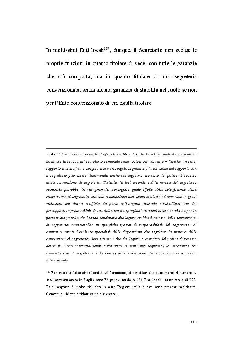 Estratto dalla tesi: Il ruolo del segretario all'interno del sistema di compliance dell'ente locale