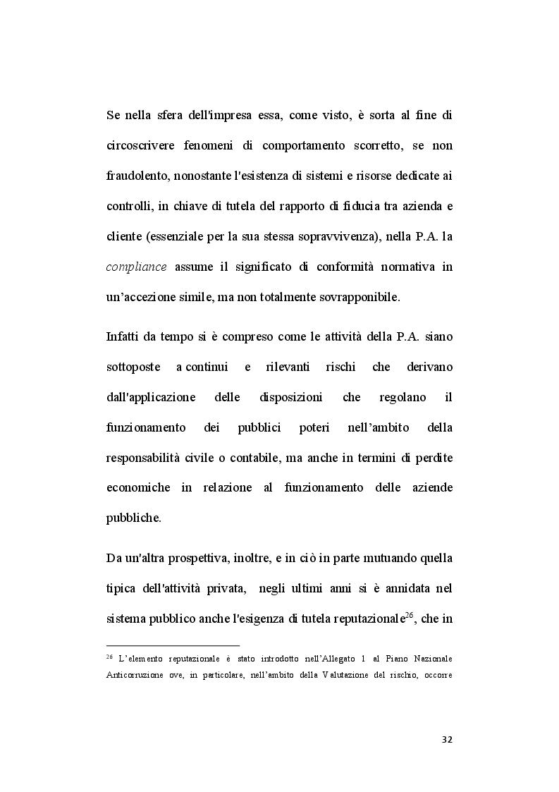Anteprima della tesi: Il ruolo del segretario all'interno del sistema di compliance dell'ente locale, Pagina 10