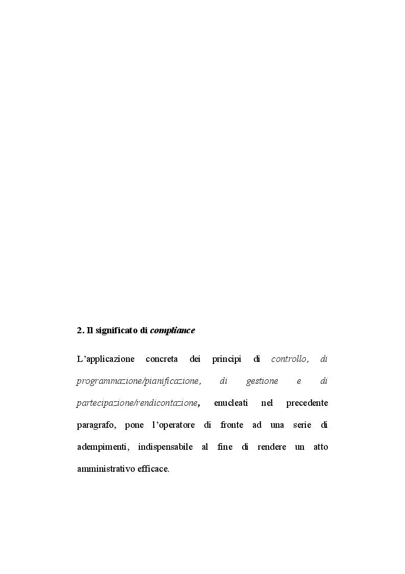 Anteprima della tesi: Il ruolo del segretario all'interno del sistema di compliance dell'ente locale, Pagina 2
