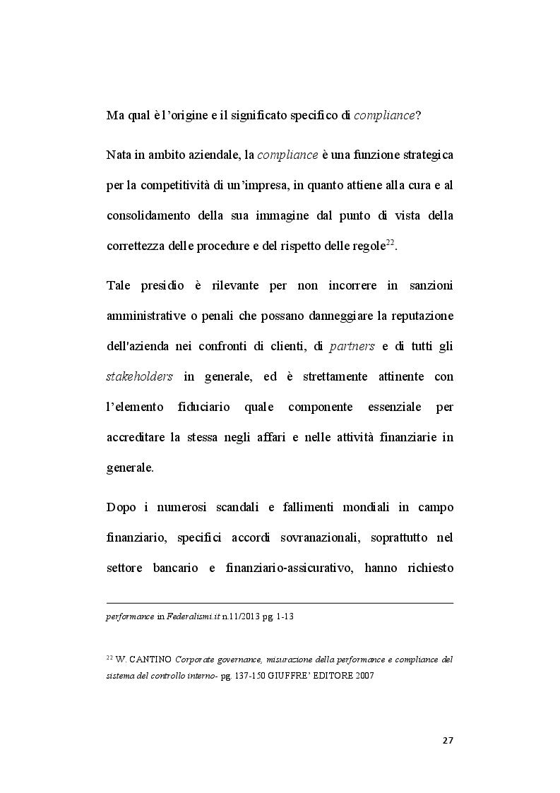 Anteprima della tesi: Il ruolo del segretario all'interno del sistema di compliance dell'ente locale, Pagina 5