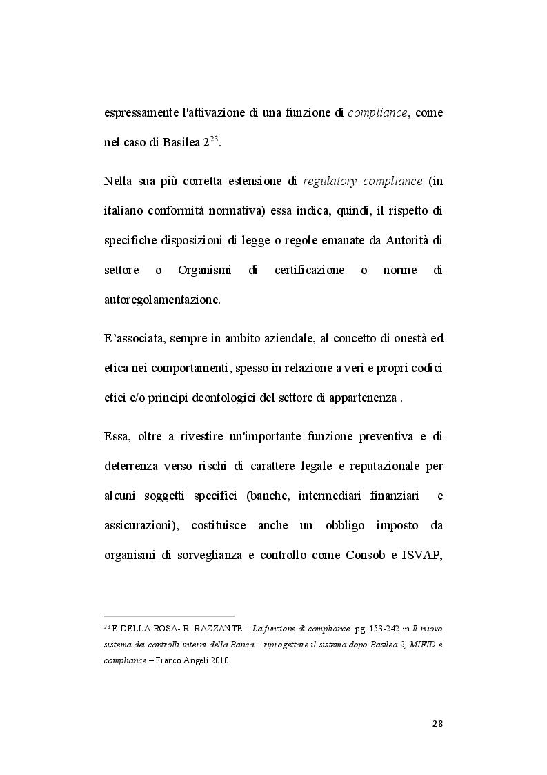 Anteprima della tesi: Il ruolo del segretario all'interno del sistema di compliance dell'ente locale, Pagina 6