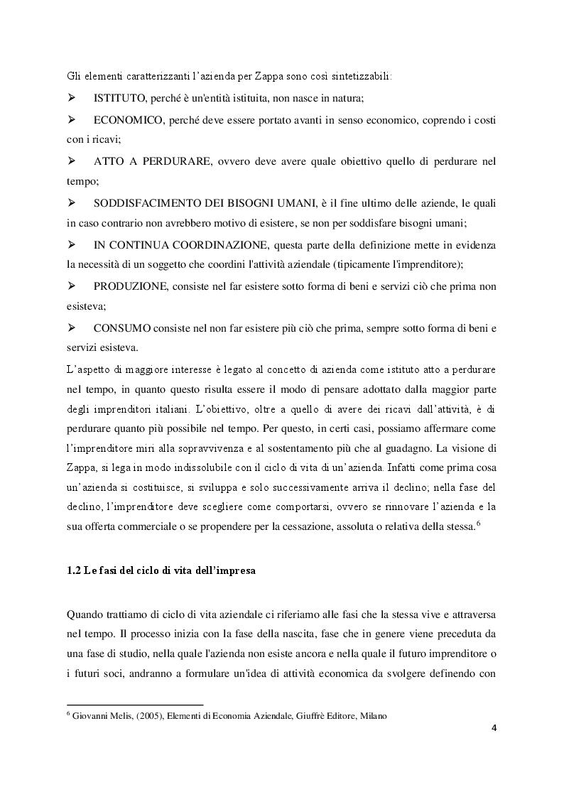 Anteprima della tesi: Studio e Analisi dell'Exit Imprenditoriale, Pagina 4