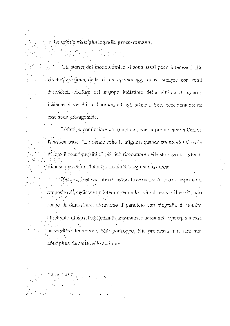 Anteprima della tesi: Femina callida semper in fraude - Le donne secondo uno storico del IV secolo, Pagina 3