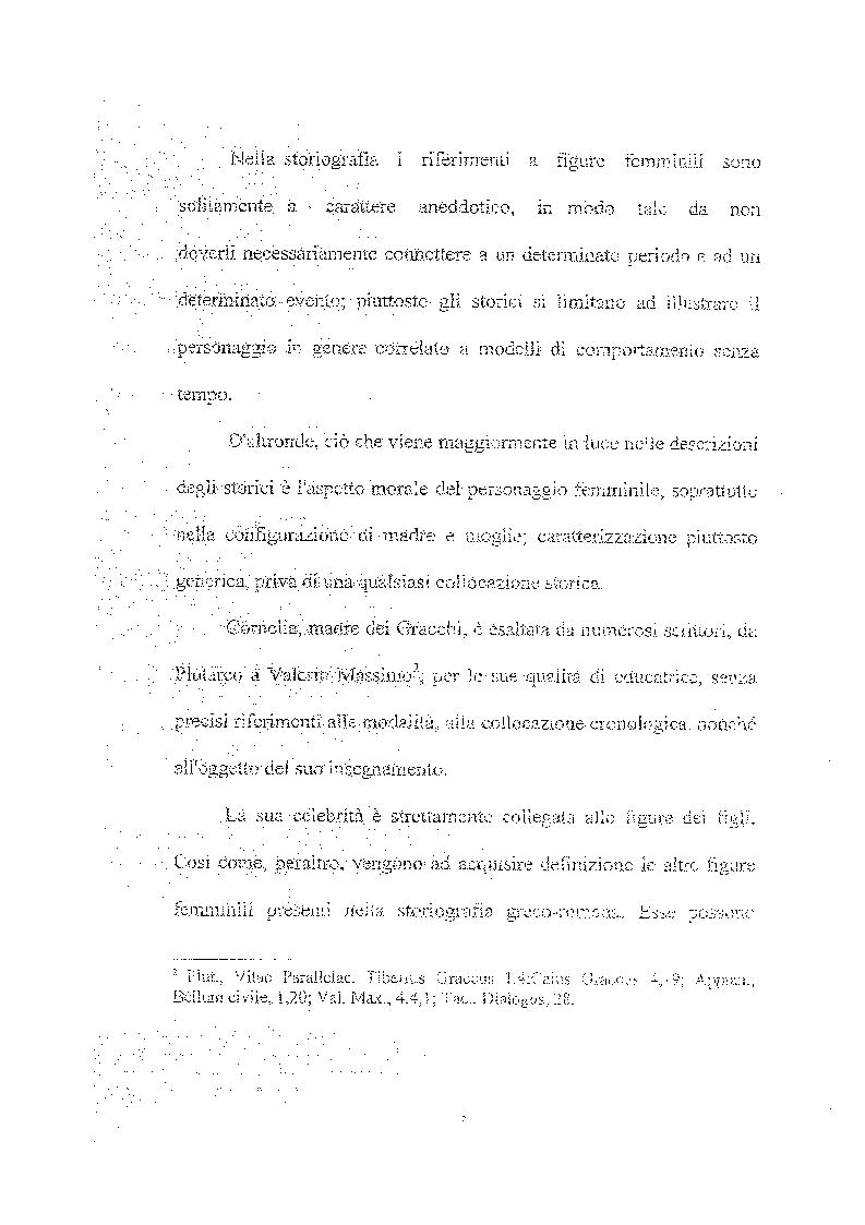 Anteprima della tesi: Femina callida semper in fraude - Le donne secondo uno storico del IV secolo, Pagina 4