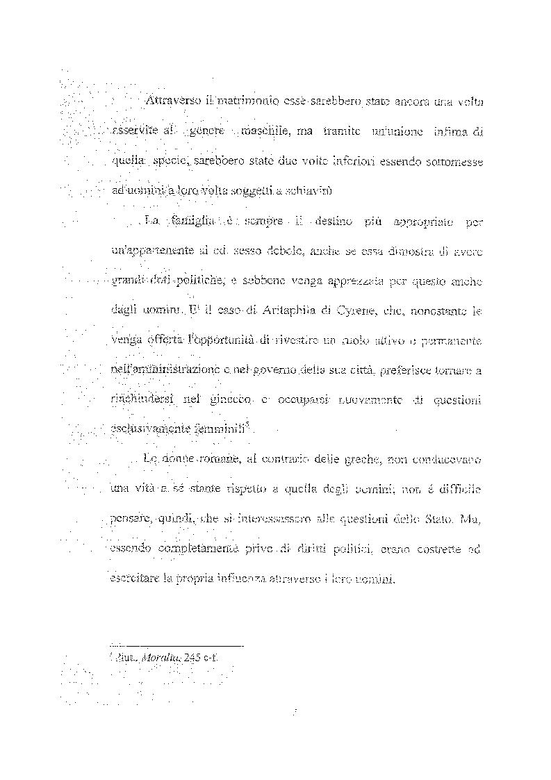 Anteprima della tesi: Femina callida semper in fraude - Le donne secondo uno storico del IV secolo, Pagina 6